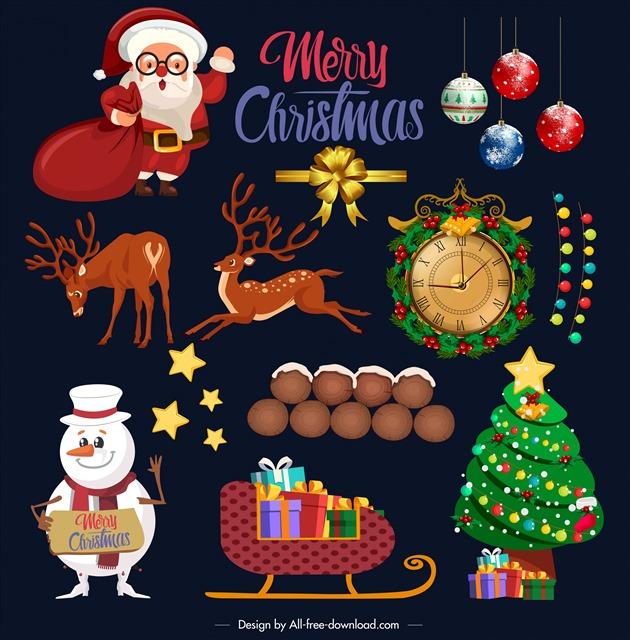 圣诞装饰全套设计