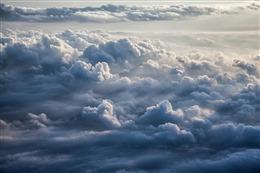高空云层图片