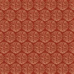 中国风红色烫金花纹背景