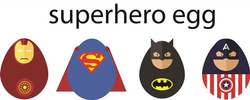 超级英雄铁人蛋