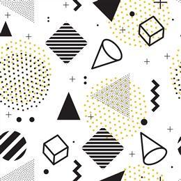 几何图形孟菲斯背景