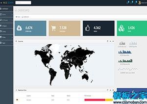 广告公司ui设计响应式网站模板