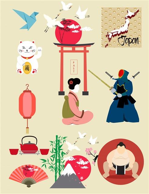 日本元素图案