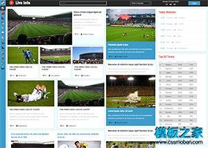 html5直播网站模板