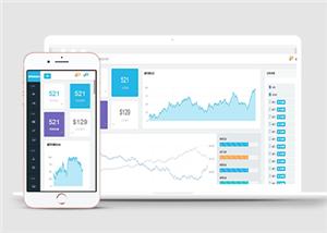 企业后台客户管理通用网站模板