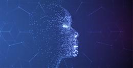 人工智能蓝色背景