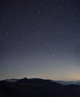 极光星空图片