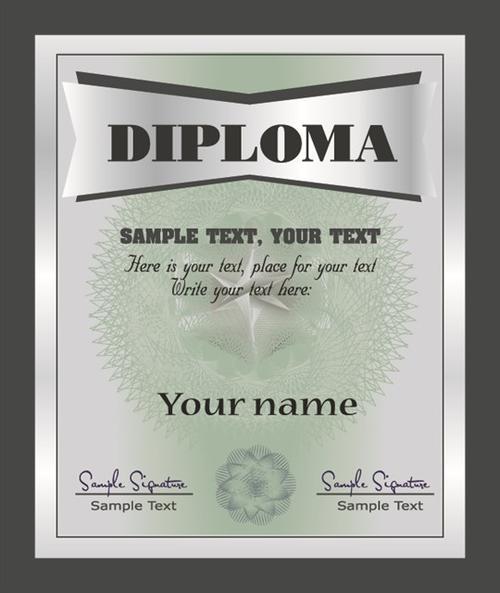 证书文凭设计模板