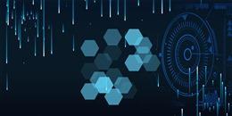 蓝色科技互联网背景图