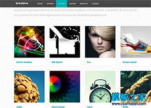 产品介绍网站模板