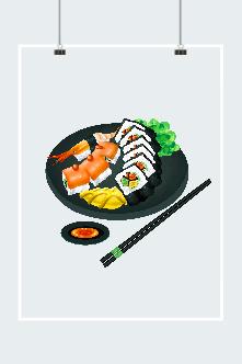 卡通日式料理图片