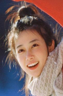 日系少女室外写真