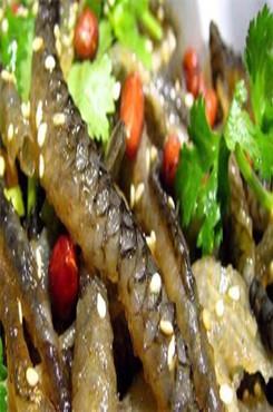 广东美食凉拌鱼皮图片
