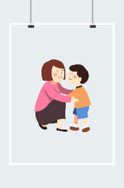 温馨卡通教师节女教师图片