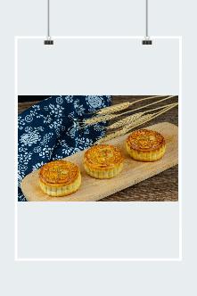中秋节月饼插画