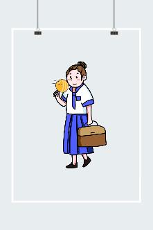 上班族人物插画