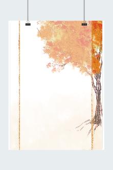 秋天景色背景图