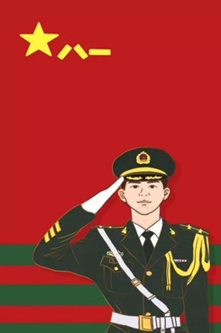 军人卡通素材图片