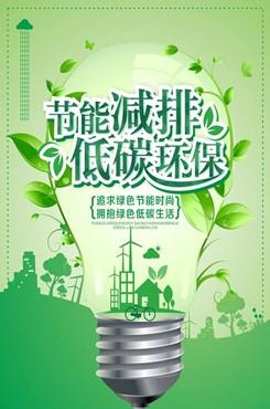 低碳环保公益宣传海报