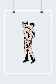 八一建军节警察图片