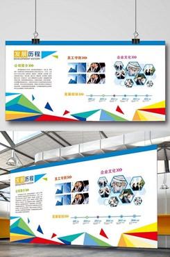 2020企业文化墙图片