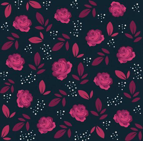 暗黑玫瑰花背景图片
