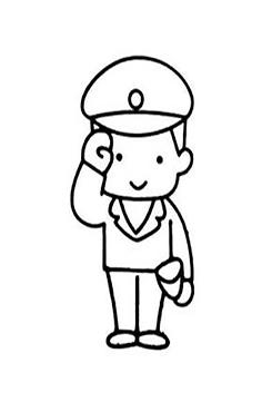 八一建军节卡通图片