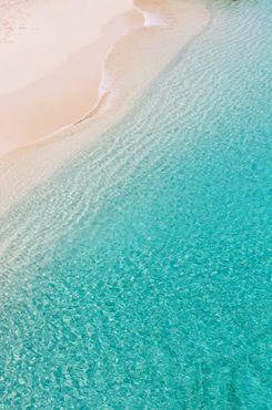 清新海边风景素材