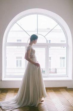 浪漫唯美婚纱礼服海报