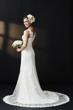 欧美复古婚纱图片