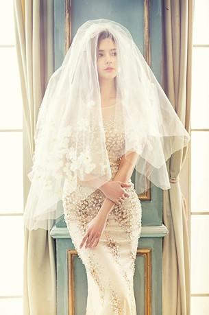 浪漫唯美婚纱照图片