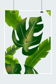 绿色纯天然护肤品上市背景图
