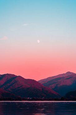 夕阳风景壁纸