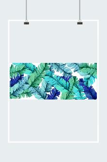 彩绘芭蕉叶图片