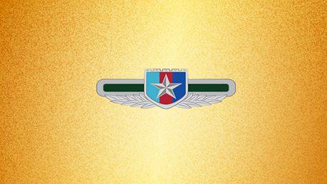 八一建军节军徽动态图片