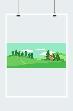 绿色环保背景图