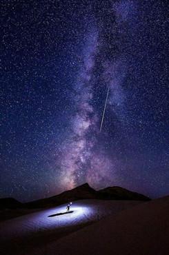 好看的星空背景图