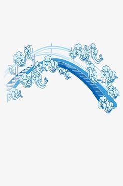 七夕鹊桥图片背景