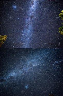 星空ppt背景图片