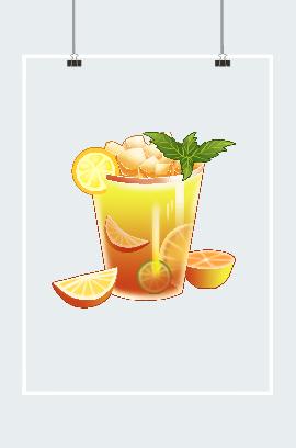果汁矢量图