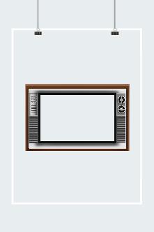 复古电视机边框