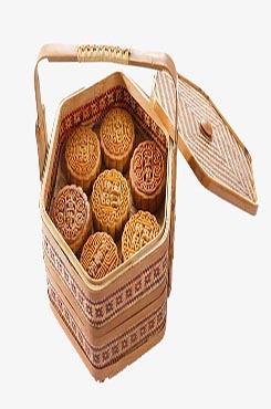 传统古典中秋节月饼图片