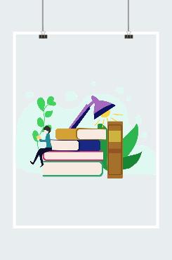 教育创意插画图片