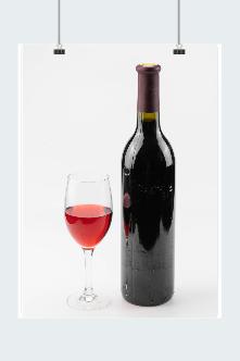 红酒矢量图