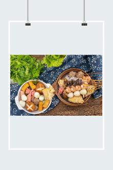 串串火锅美食超清摄影图片