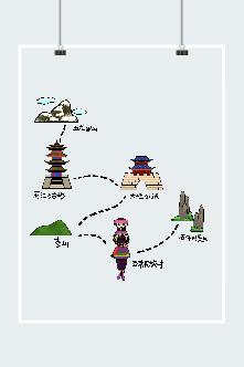 云南旅游线路图片