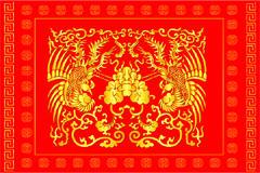 中国传统剪纸图案
