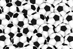 足球背景矢量图片