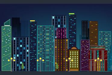 都市建筑矢量素材