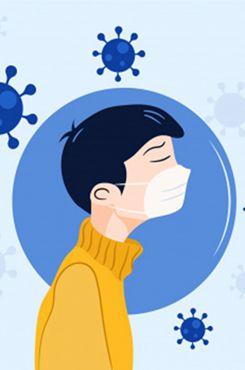 预防新冠肺炎公益图片